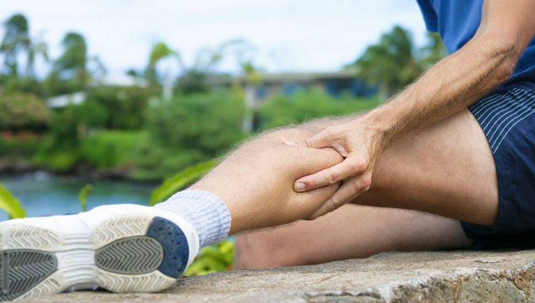 حرکات کاهش درد ساق پا